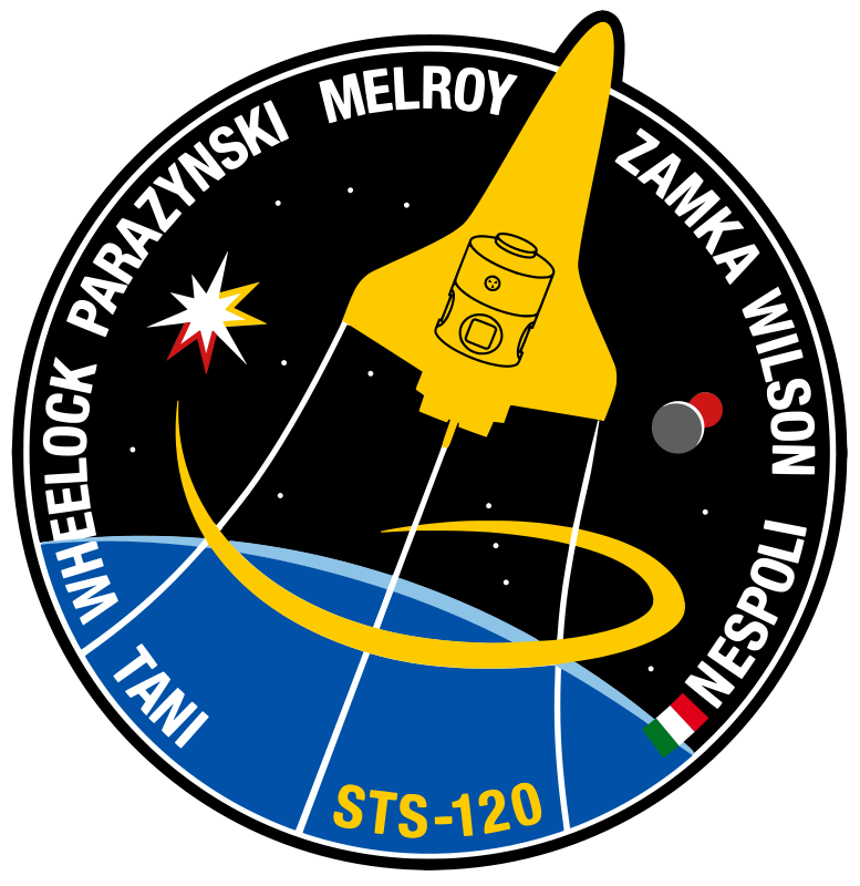 Free STS-120 Patch