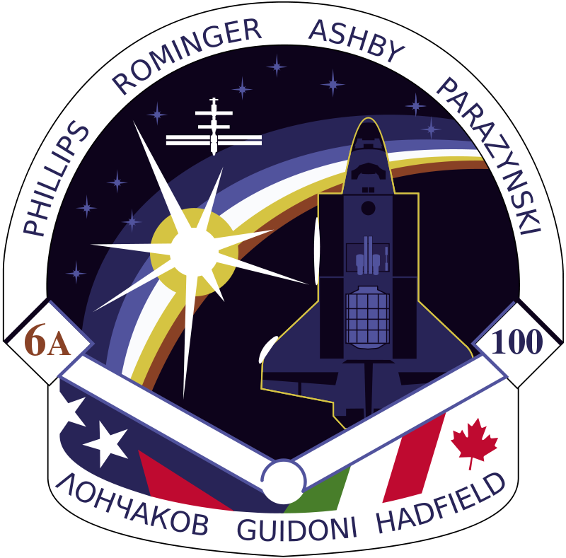 Free STS-100 Patch