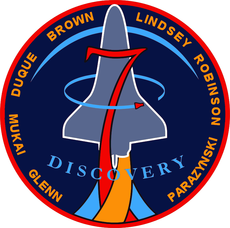 Free STS-95 Patch