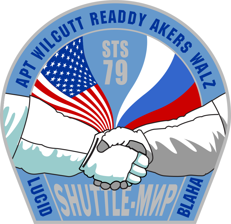 Free NASA STS-79 Patch