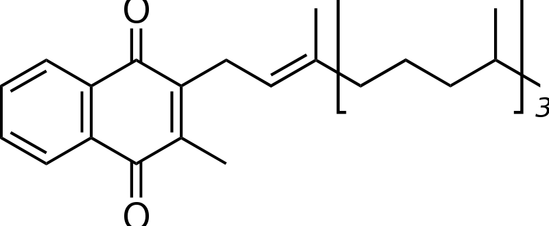 Free Phylloquinone Structure