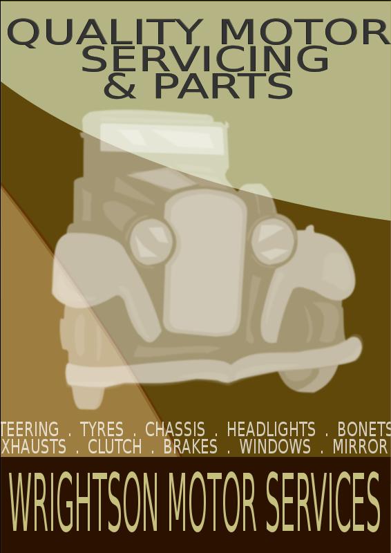 Free Vintage Car Poster 2