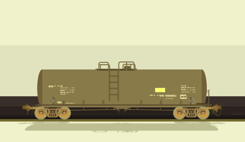 Free Railroad Tank Car