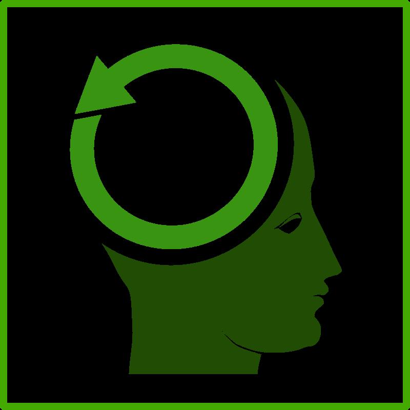 Free eco think green icon