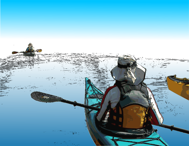 Free Venturing Kayakers