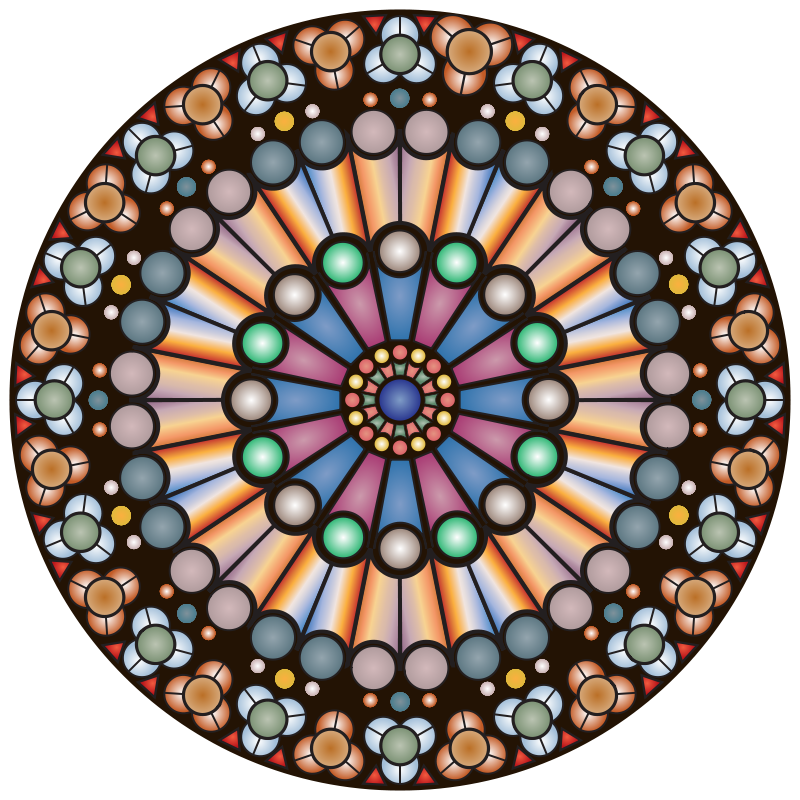 Free Rose Window - Notre Dame