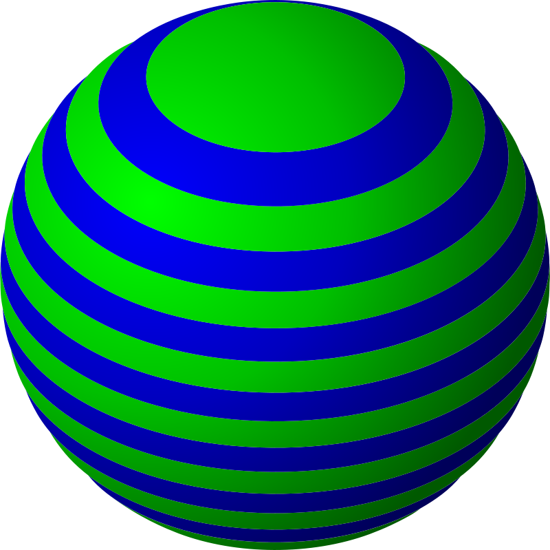 Free Striped Ball