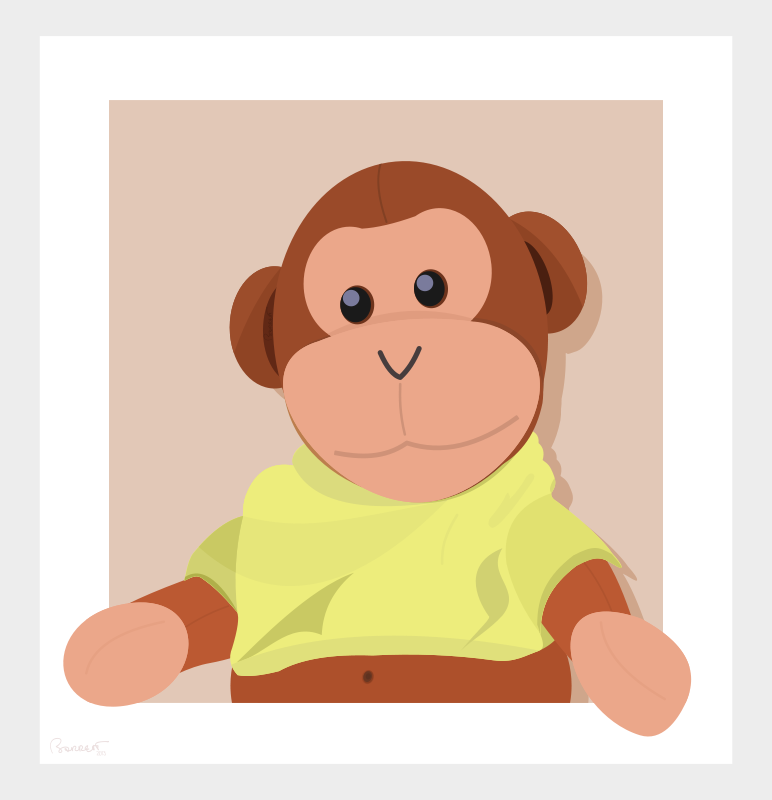 Free Stuffed Teddy Monkey