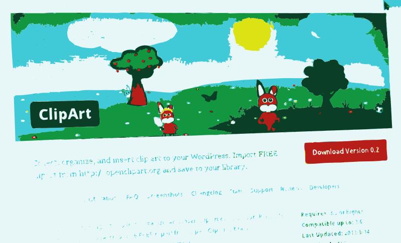 Free UPDATE: Clipart WordPress Plugin received an update.