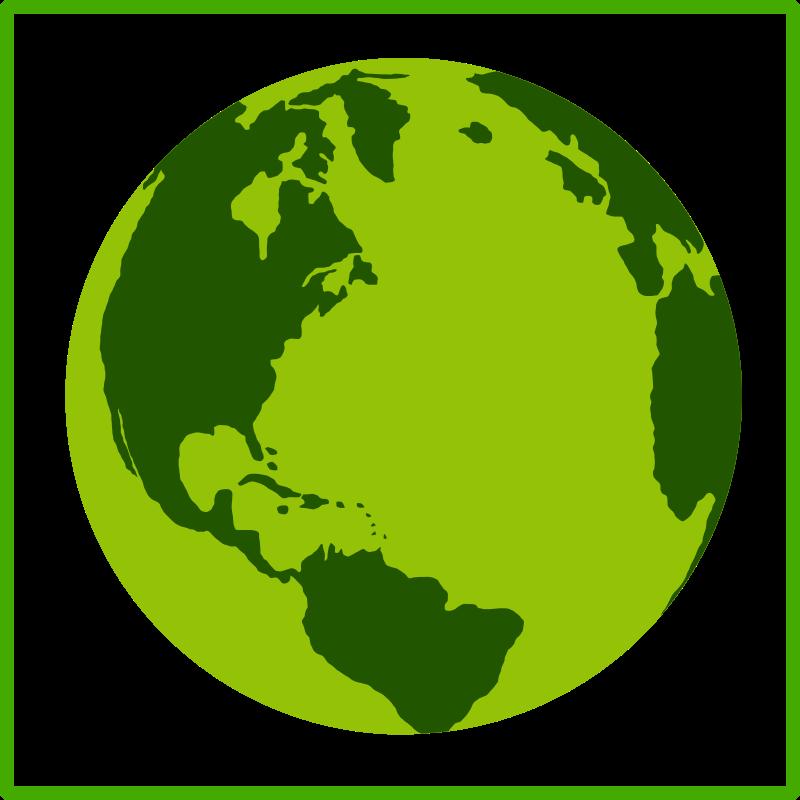 Free Eco green Earth icon