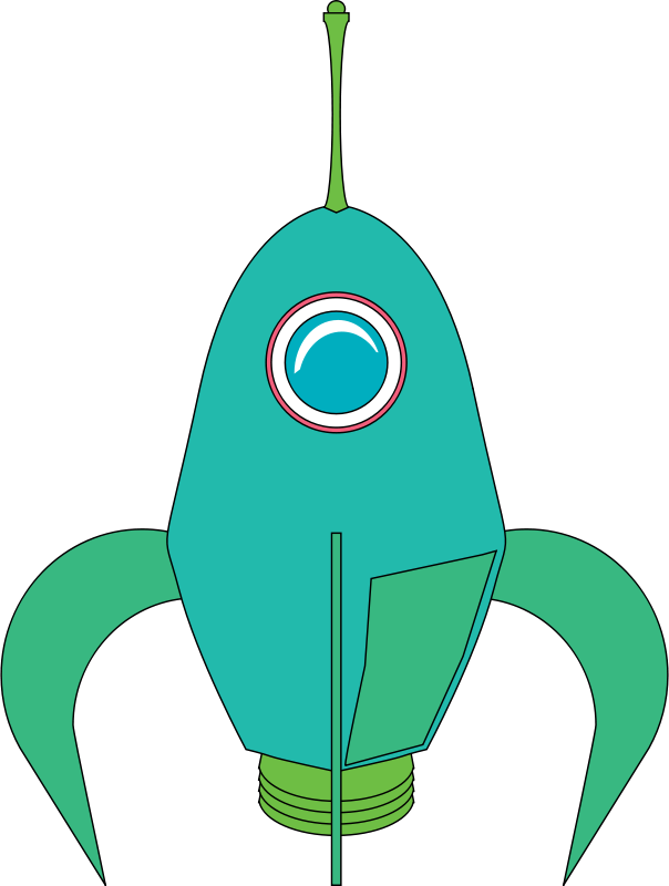Free Futuristic Rocket
