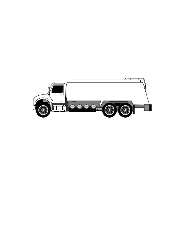 free clipart: oil and gas tanker truck | azieser