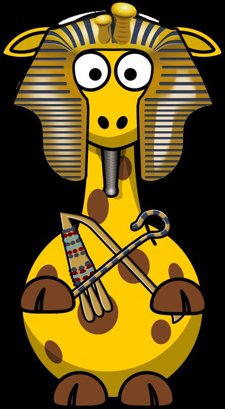 Free Giraffe Pharao