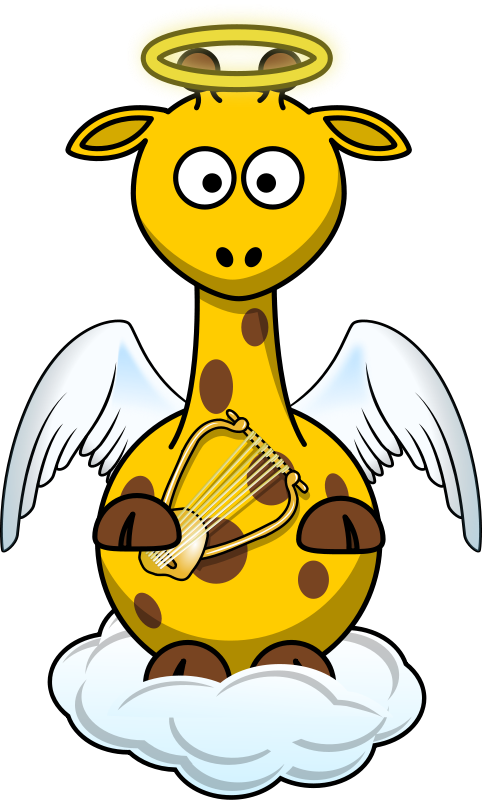 Free Giraffe Angel