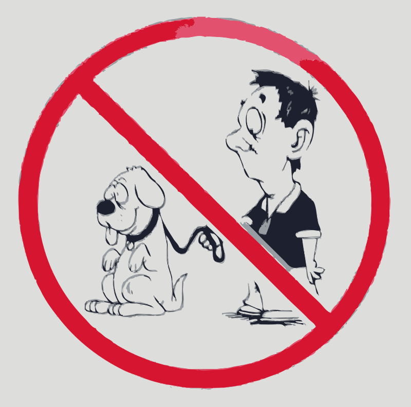 Free No dogs allowed
