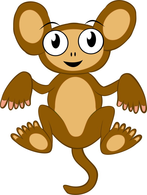 Free Clipart: Monkey | qubodup