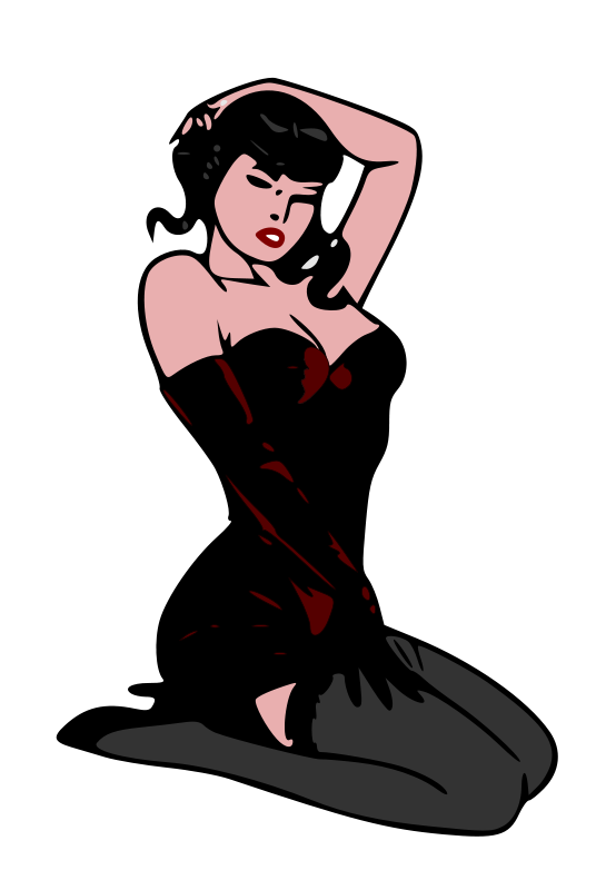 Free Pin-up red