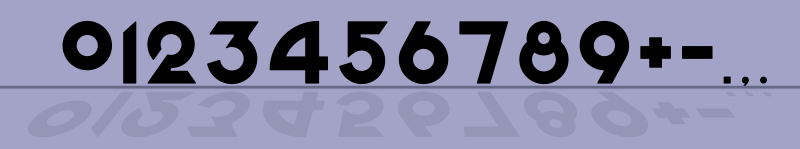 Free Odd Geometric Numbers