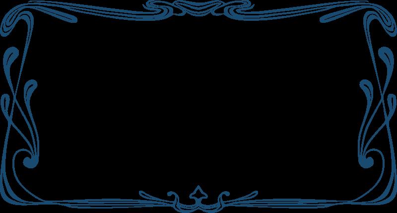 Free Art Nouveau Frame 2