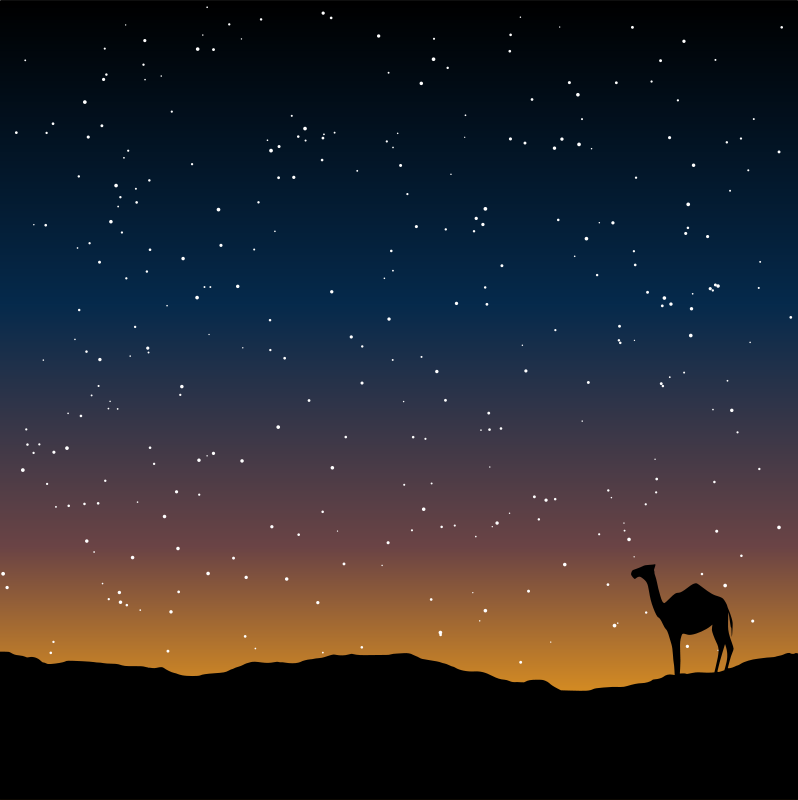 Free Camel Silhouette