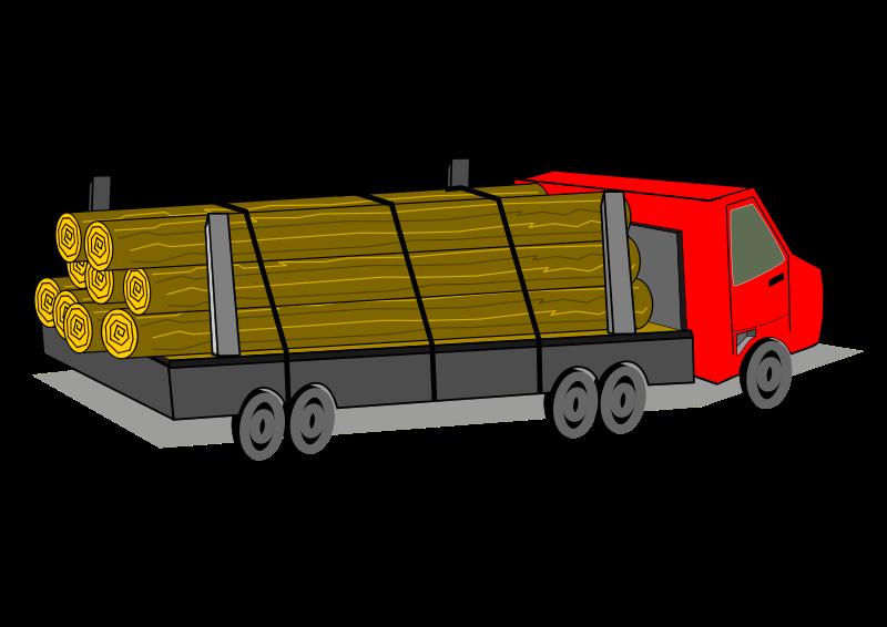 Free Logging Truck