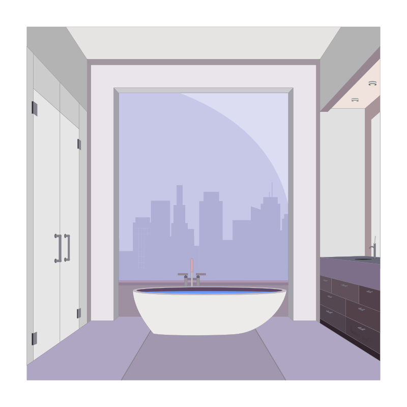 Free Apartment Bathroom