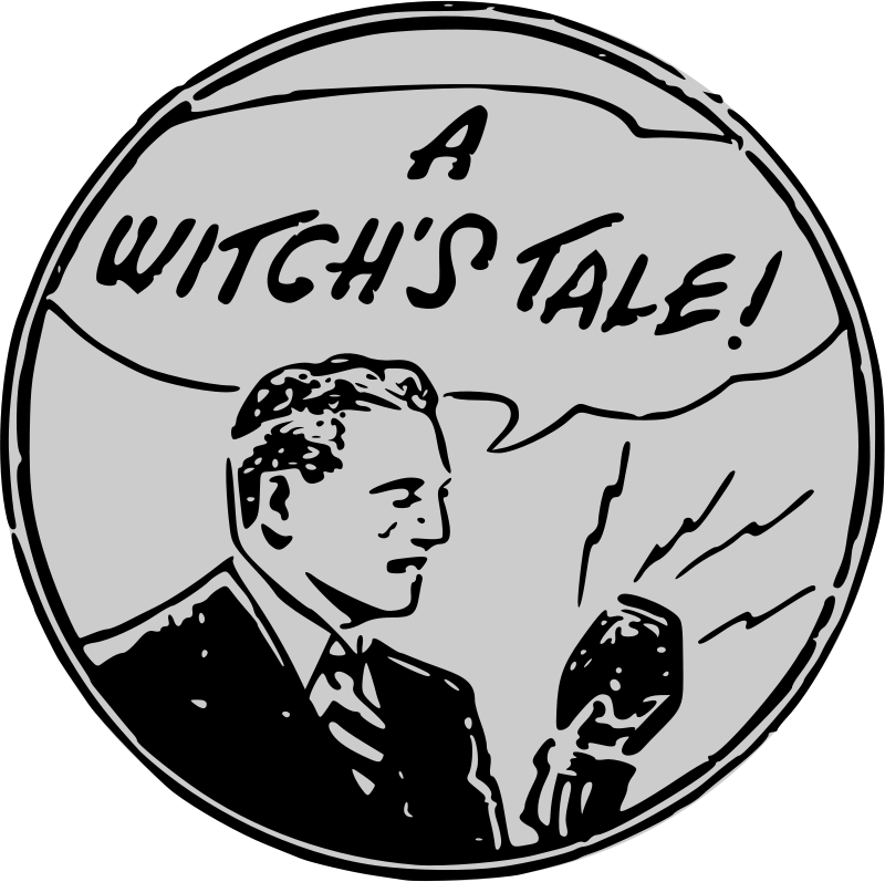 Free Clipart: A Witch's Tale   liftarn