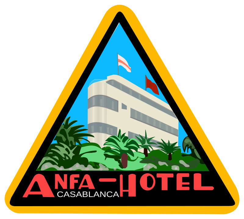 Free Sticker Anfa Hotel