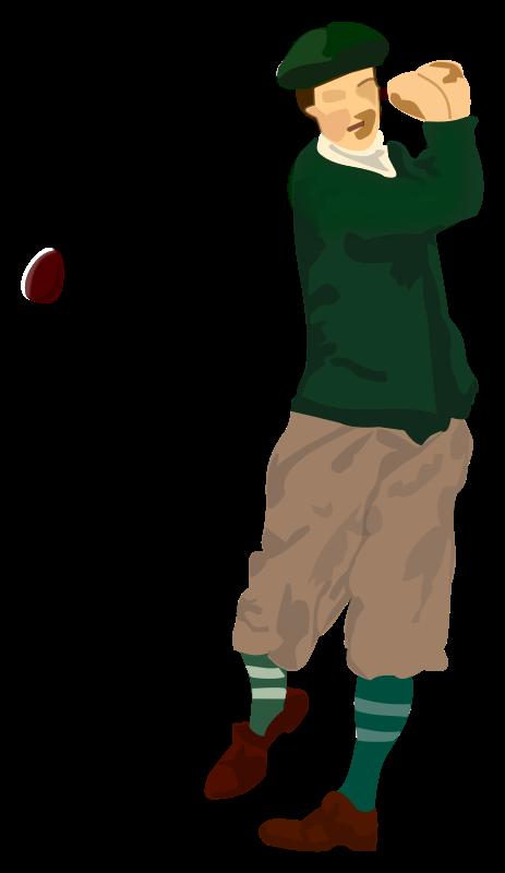 Free Clipart: Golfer | frankes