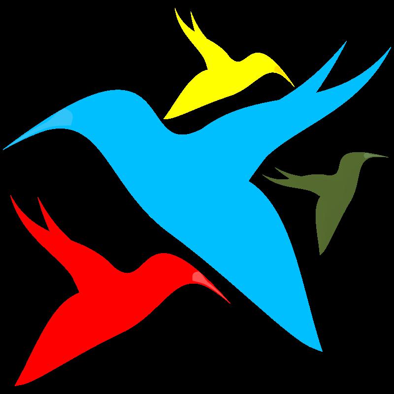 Birds vector. Free clipart bird vectors