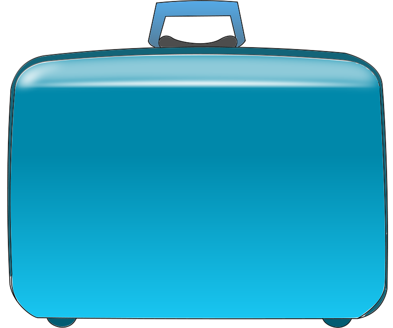 free clipart suitcase cprostire rh 1001freedownloads com clipart pictures suitcases suitcase clipart blue