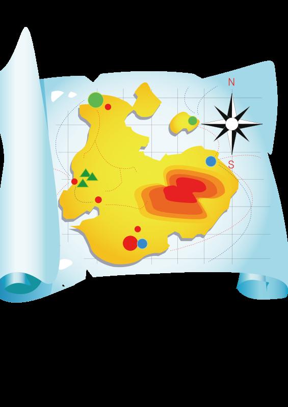 Free travel map