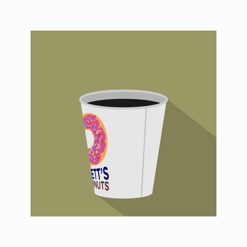Free Doughnut Shop Coffee Icon