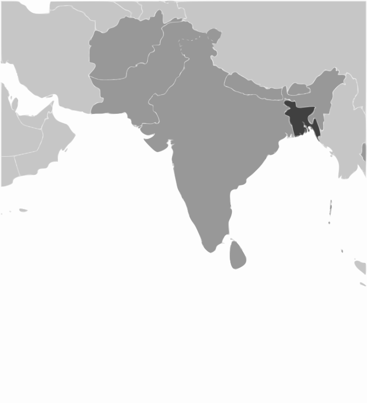 Free Bangladesh location