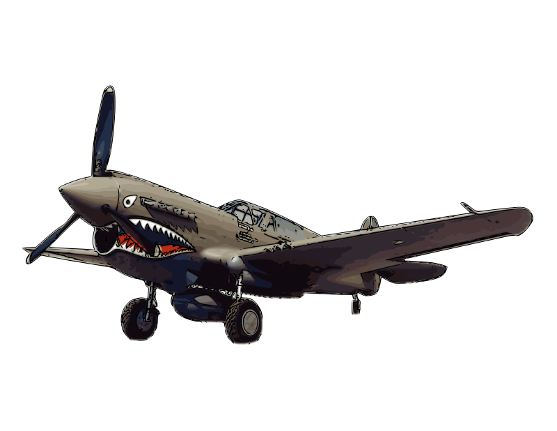 Free Curtiss P-40 Warhawk