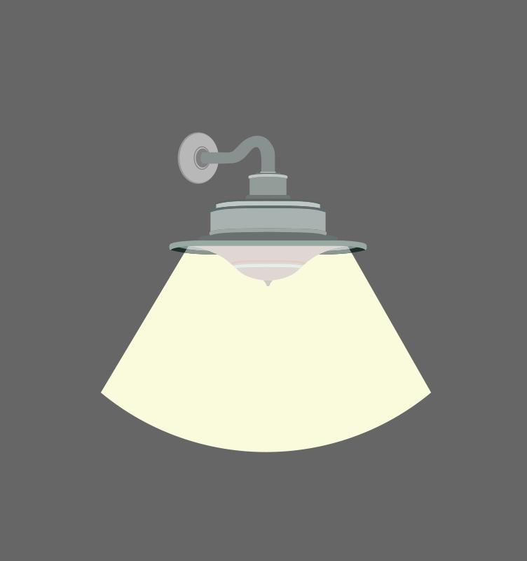 Free Clipart A Wall Light Fixture