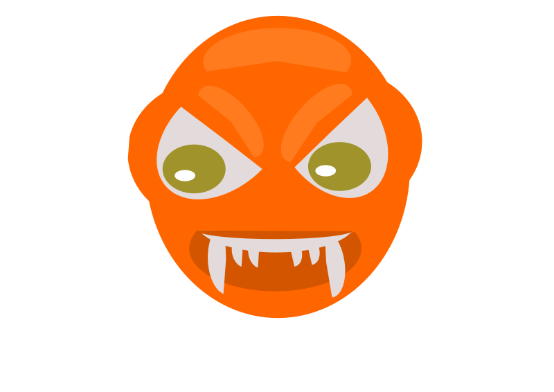 Free Clipart: Angry ball | mohamed elsayed
