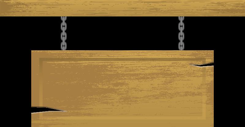 Free Clipart: Wooden Blank Sign | gustavorezende