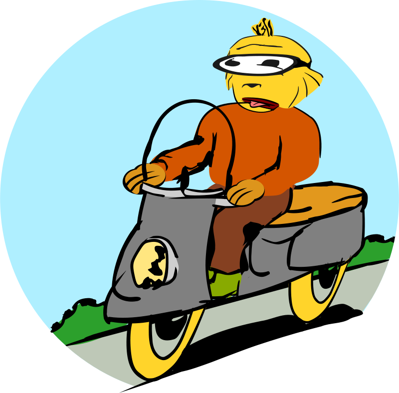 Free Scooter driver