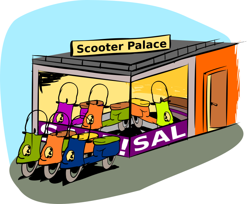 Free Trading scooters