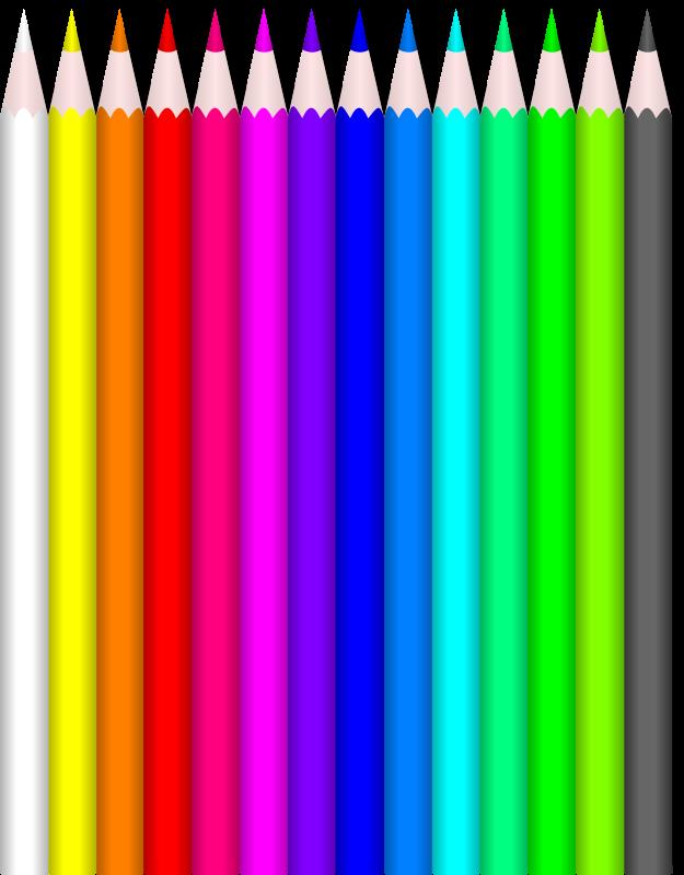 Free Colored Pencils