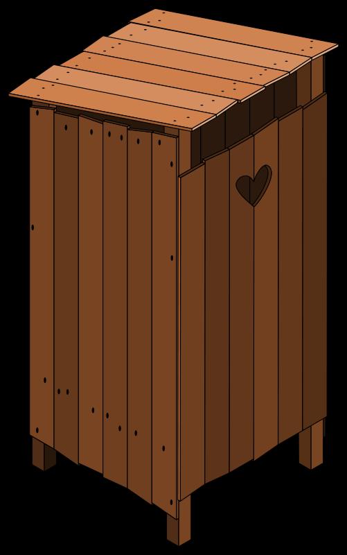 Free latrine closed