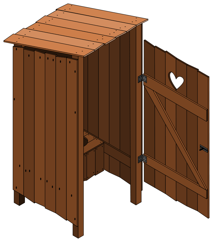 Free latrine open