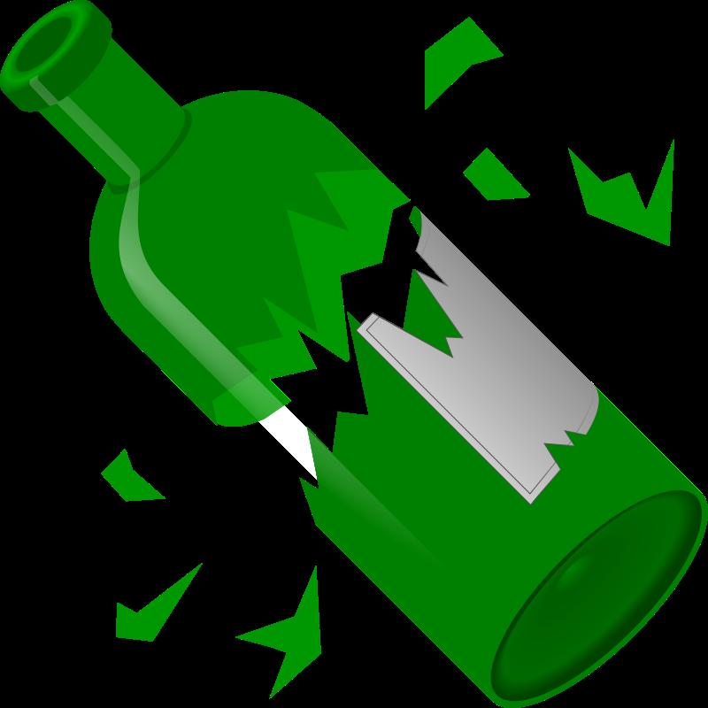 Free Broken Bottle