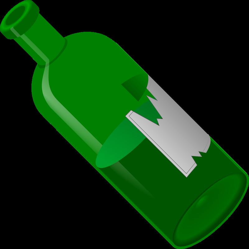 Free Old Open Bottle
