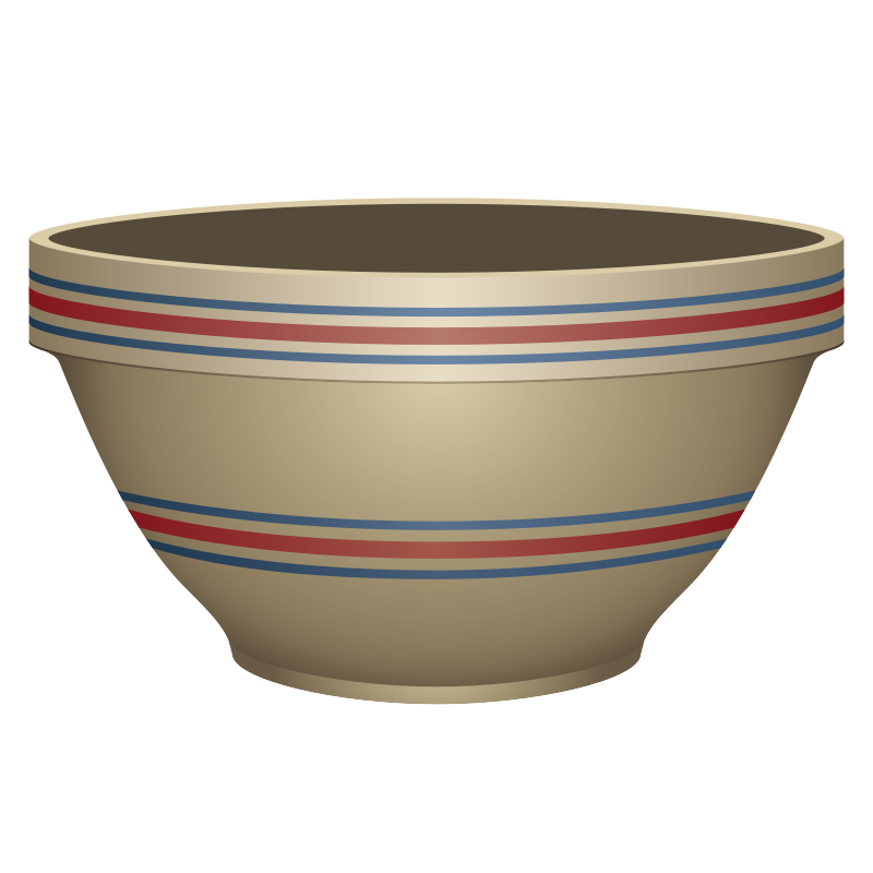 Free Stone Crockery Bowl