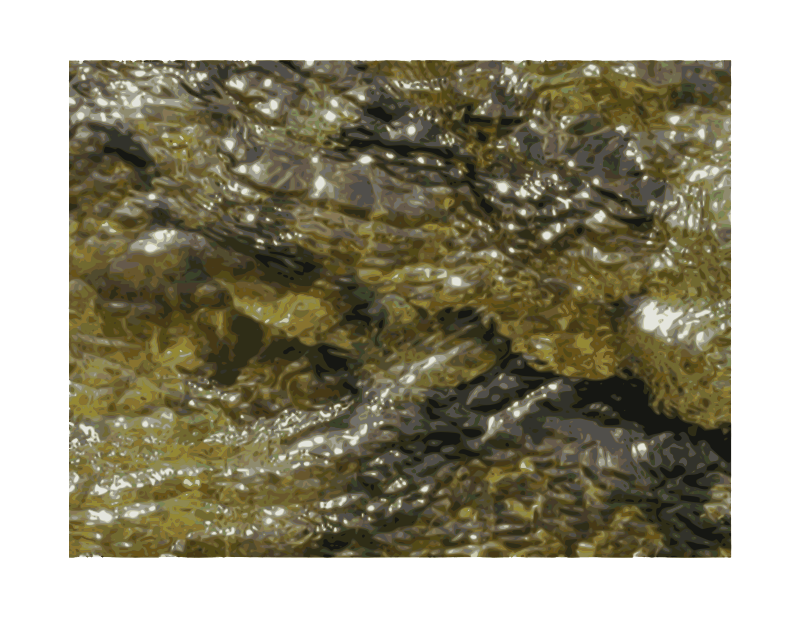 Free Water Over Rocks - texture