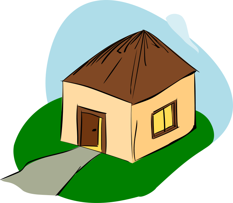 Free Clipart Hut Rdevries