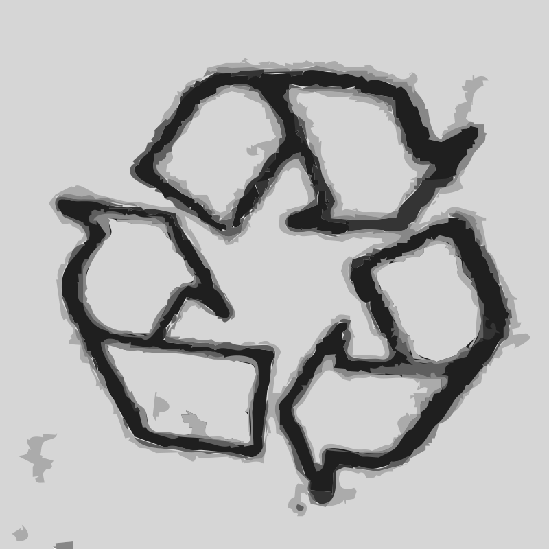 Free The recycle icon