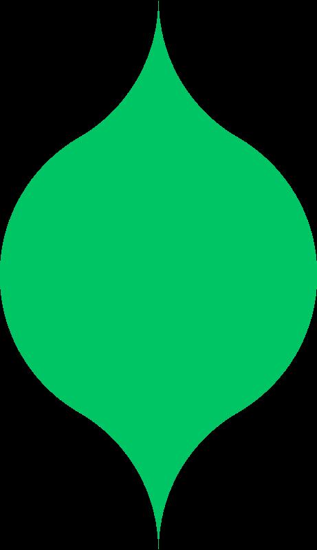 Free Curved lattice shape
